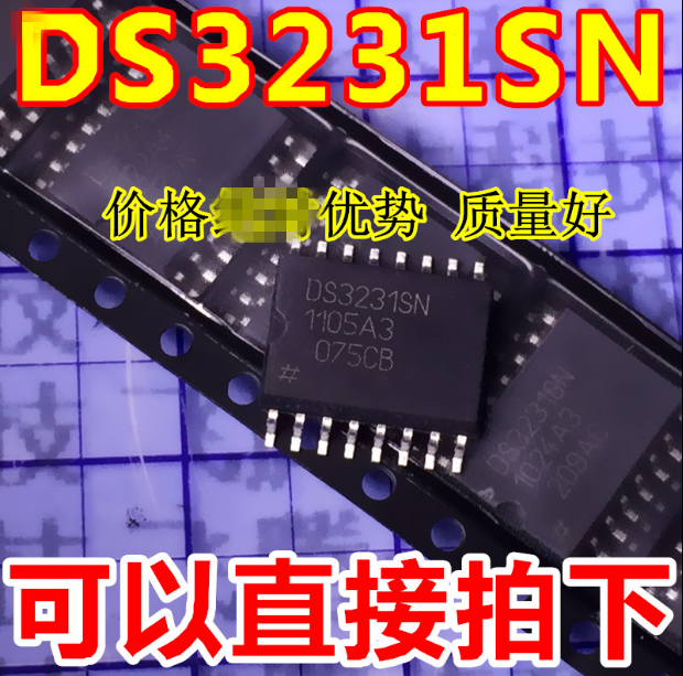 100 adet/grup DS3231SN DS3231 SOP16 IC.